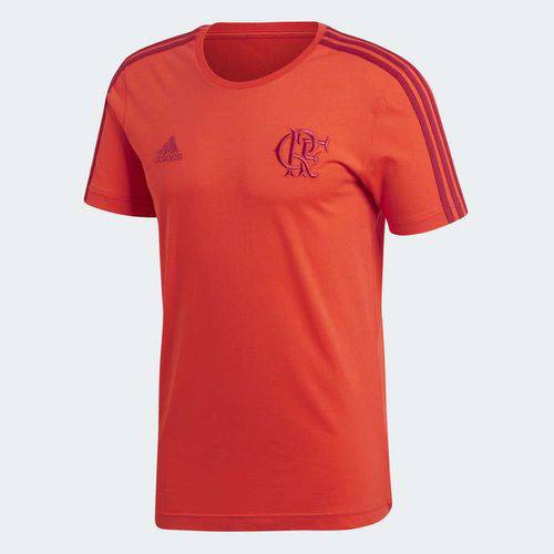 Camisa Flamengo 3S Vermelha Adidas 2018