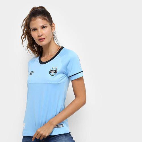 Camisa Grêmio Ii 2018 S/n° Charrua Torcedor Umbro Feminina