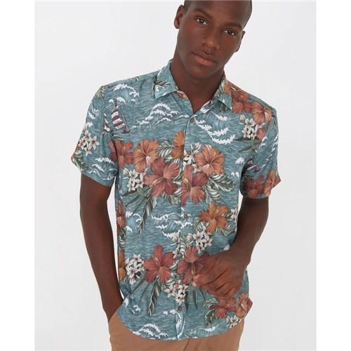 Camisa Hawai Estampado P
