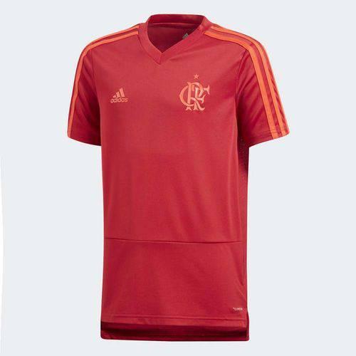 Camisa Infantil Flamengo Treino Adidas 2018