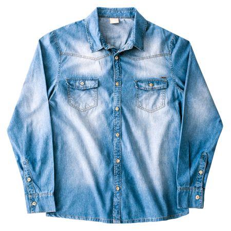 Camisa Jeans Adulto Masculina Milon M4535.6108.G