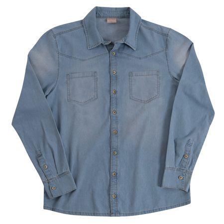 Camisa Jeans Adulto Masculina Milon M4851.6108.G
