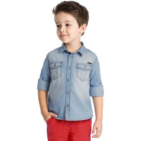 Camisa Jeans Infantil Masculina Milon 11040.6108.3