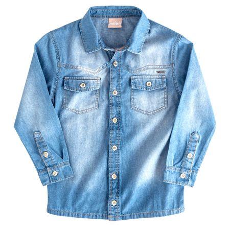 Camisa Jeans Infantil Masculina Milon M4534.6108.M