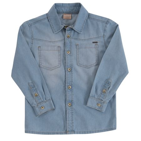 Camisa Jeans Infantil Masculina Milon M4850.6108.1