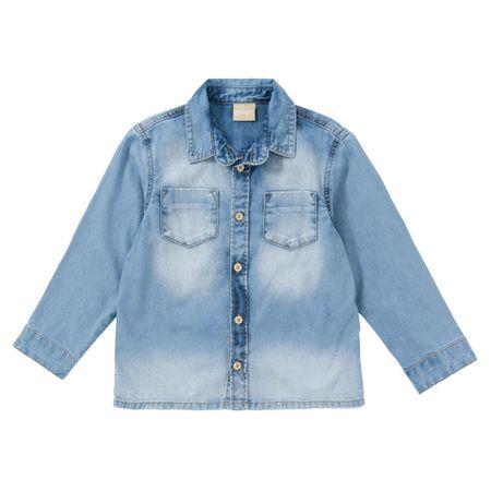Camisa Jeans Infantil Masculina Milon M5912.6799.3