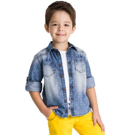 Camisa Jeans Infantil Masculina Milon M6108.6108.1