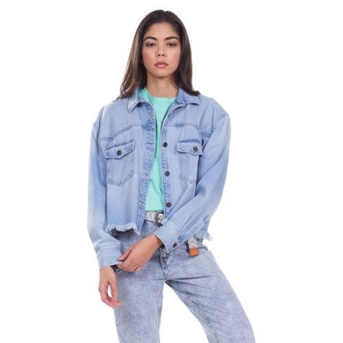 Camisa Jeans Levis Long Sleeve Addison - L