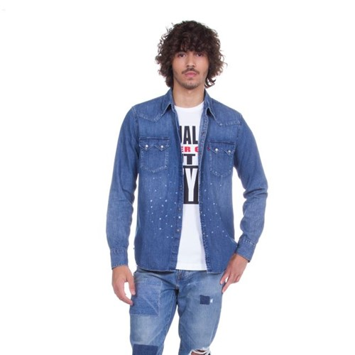 Camisa Jeans Levis Sawtooth Western - S
