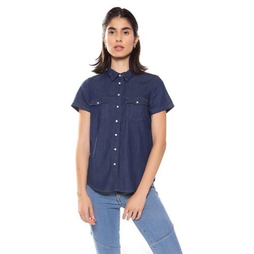 Camisa Jeans Levis Short Sleeve Larissa Western - L
