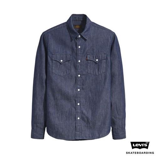 Camisa Jeans Levis Skateboarding Western - L