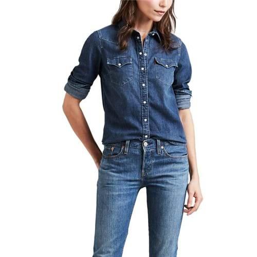 Camisa Jeans Levis Ultimate Western - L