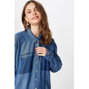 Camisa Jeans Reserva Bolso Jeans - P