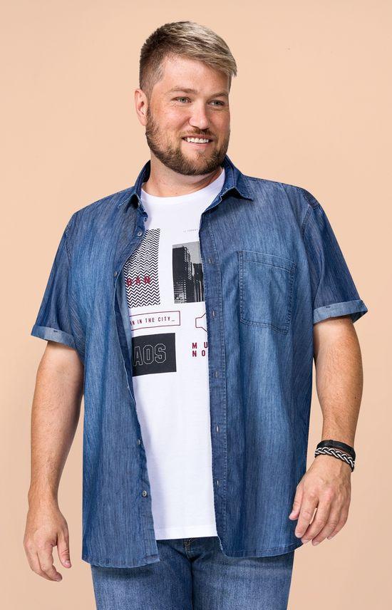 Camisa Jeans Slim Wee! Azul - G