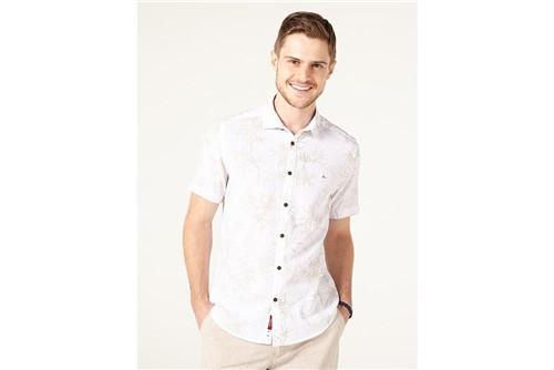 Camisa Jeanswear Slim Bambu - Branco - M