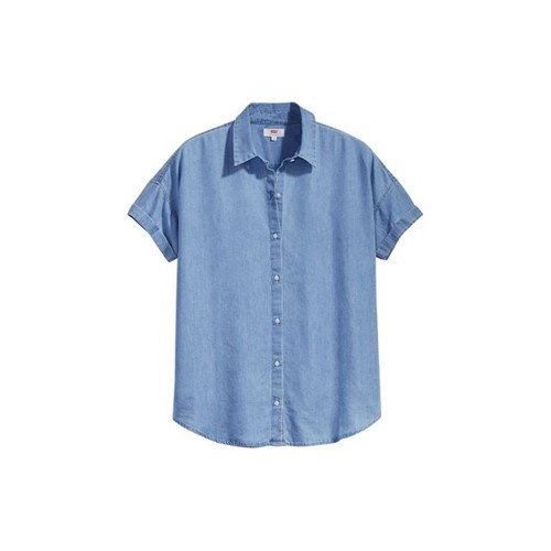 Camisa Levis Sadie Button Back - M