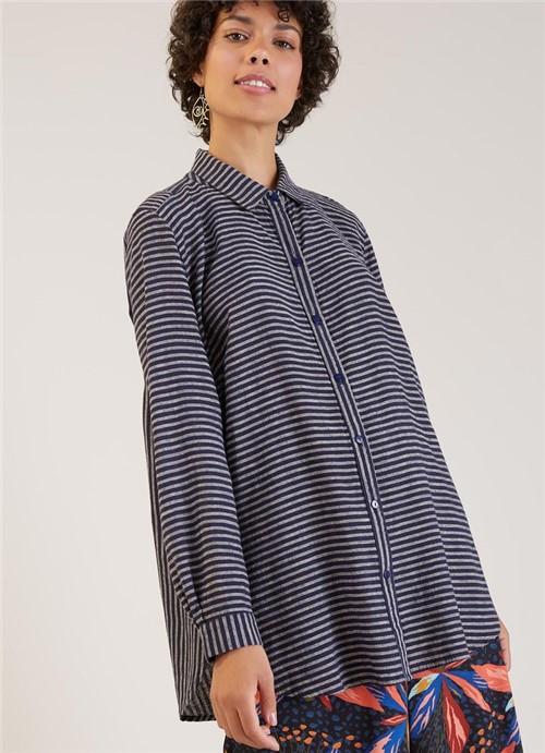 Camisa Listra Origem Azul Marinho G