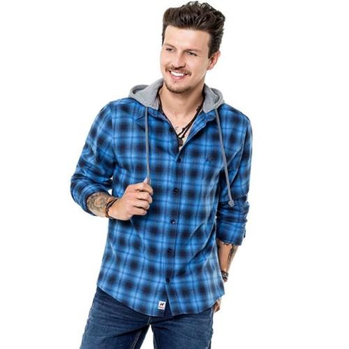 Camisa M/l Masc. Comfort C/ Capuz