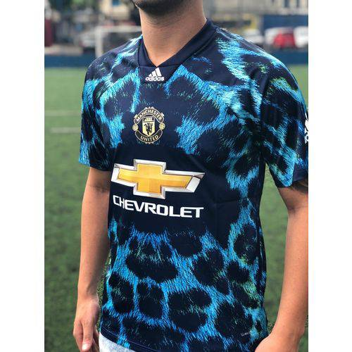 Camisa Manchester United Edição Limitada Oficial Torcedor Azul 2018/19 Tamanho P Original