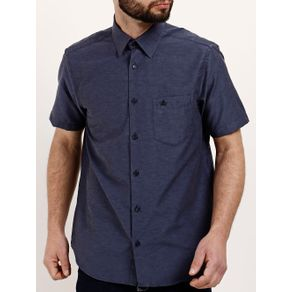 Camisa Manga Curta Masculina Azul Marinho G