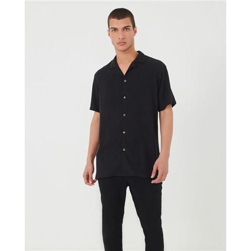 Camisa Manga Curta Preto P
