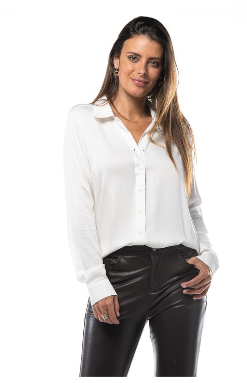Camisa Manga Longa-branco - P