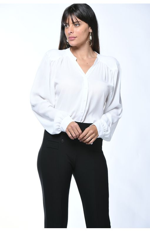 Camisa Manga Longa-branco - Pp