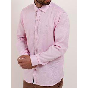 Camisa Manga Longa Masculina Bivik Rosa 4