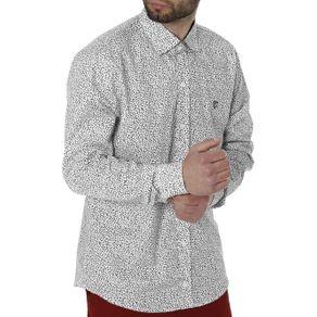 Camisa Manga Longa Masculina Branco 1