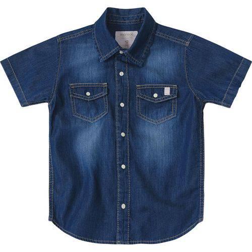 Camisa Marisol Jeans Menino Azul