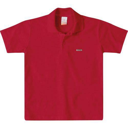 Camisa Marisol Polo Menino Vermelho