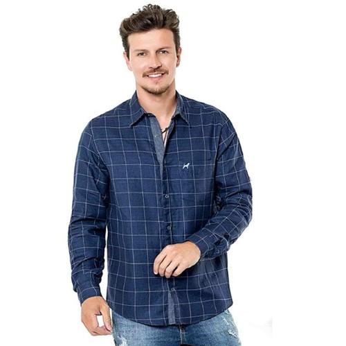 Camisa Masc. M/l Comfort Fit Dupla Face