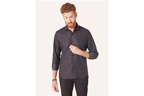 Camisa Menswear Slim Gola Trento Gravataria - Preto - P