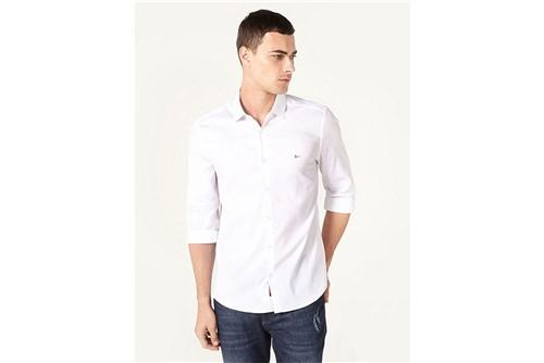 Camisa Menswear Super Slim Paris - Branco - P
