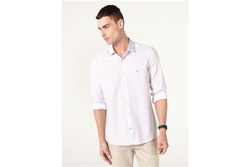 Camisa Menswear Super Slim Square - Branco - G