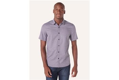 Camisa Menswear Xadrez - Marinho - M