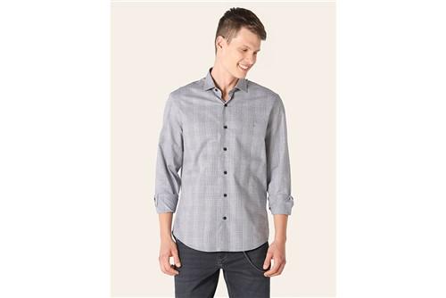 Camisa Menswear Xadrez - Marinho - P