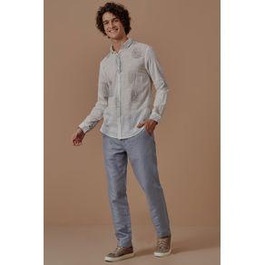 Camisa Ml Fresh Branco - M