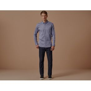 Camisa Ml Tokio Azul - P