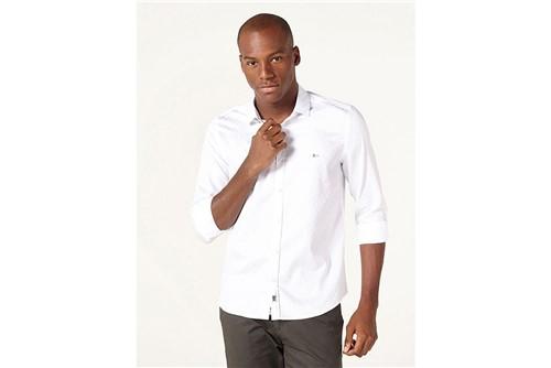 Camisa Night Super Slim Fio 60 - Branco - GG