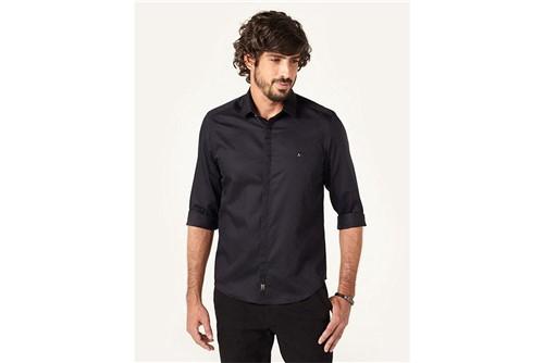 Camisa Night Super Slim Fio 70 - Preto - M