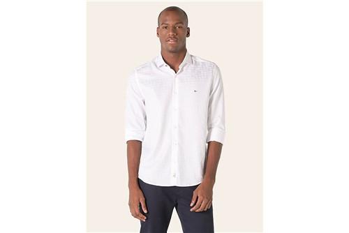 Camisa Night X Jacquard Fio 70 - Branco - P
