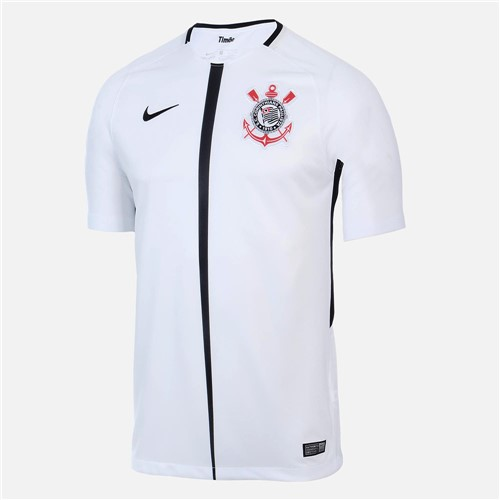Camisa Nike Manga Curta Corinthians Dry Stadium