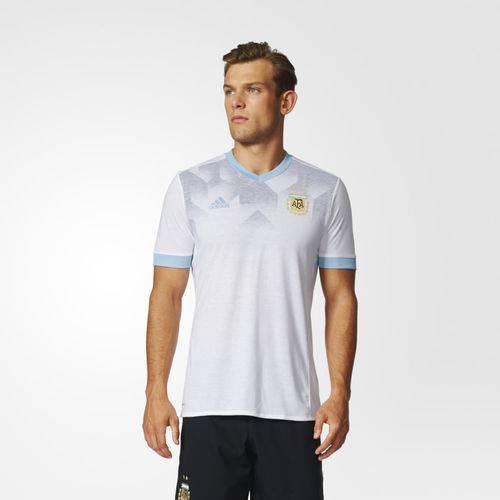 Camisa Original Argentina Pré-Jogo Branca - M