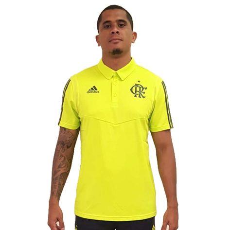 Camisa Polo Flamengo Adidas 2019 P
