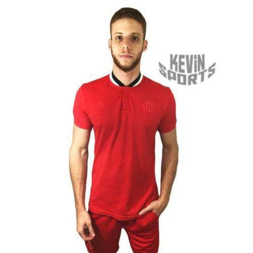 Camisa Polo Flamengo Adidas Rio 450 Anos Vermelha