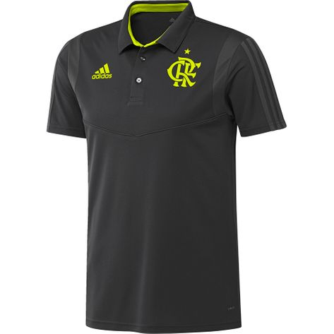 Camisa Polo Flamengo Viagem Adidas 2019 GG