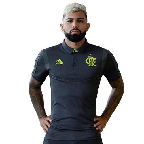 Camisa Polo Flamengo Viagem Adidas 2019 M
