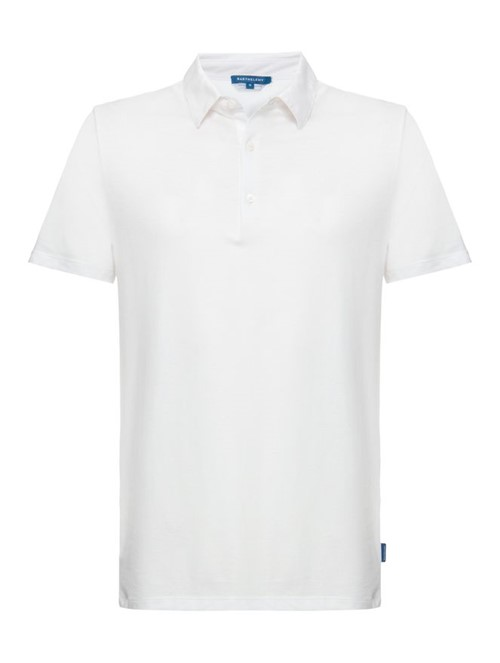 Camisa Polo Premium Pima Branco Tamanho P