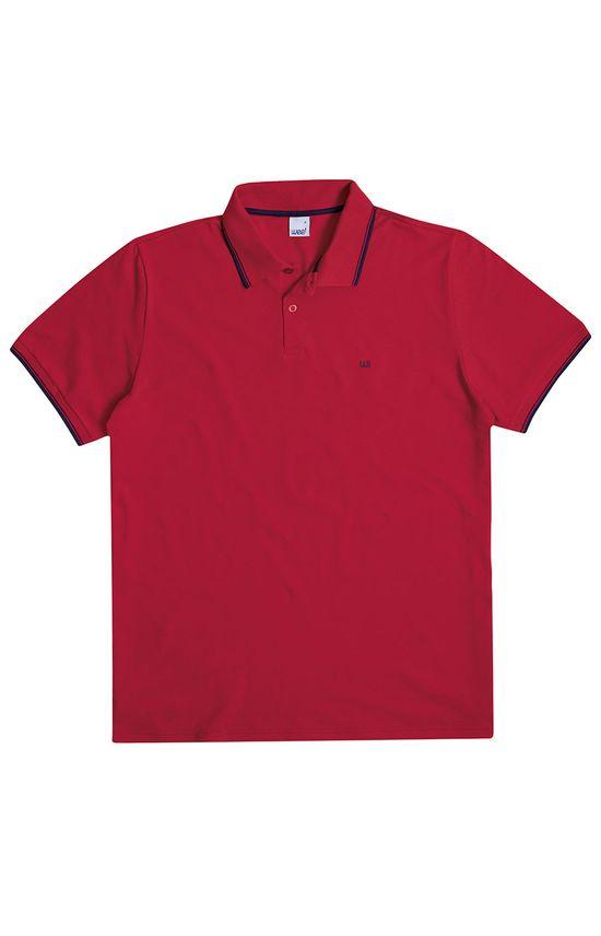 Camisa Polo Tradicional Piquê Vermelho - G